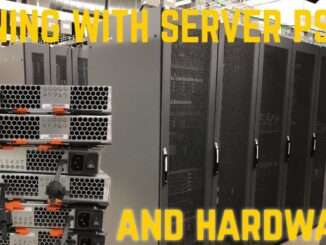 Cryptocurrency Mining with SERVER Power Suppiles
