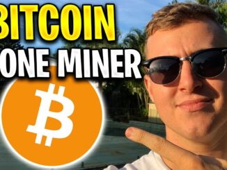 Mine Bitcoin on your PHONE! ($10 day ✔️) Works overnight iOS & Android BTC Miner Mobile!