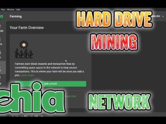 How to Mine Chia, Hard Drive crypto mining