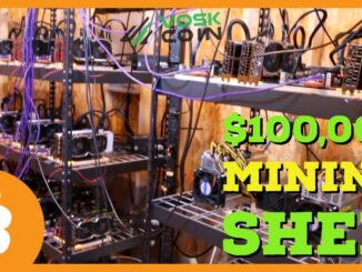 I Spent $100,000 Building a CRYPTOCURRENCY & BITCOIN MINING SHED?!
