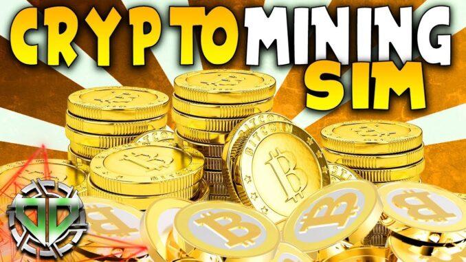 CRYPTOCURRENCY MINING SIMULATOR : BitCoin Tycoon Mining Simulator Gameplay : BETA Early Access