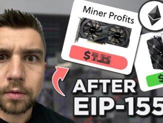 Ethereum Mining Profitability UPDATE EIP-1559 impact...
