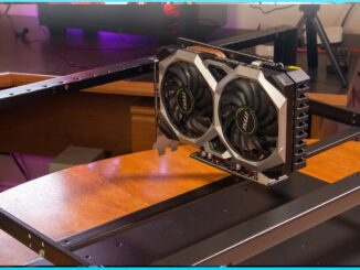 The Pan Mining Rig Frame | GPU Cryptocurrency Mining Rig Frame | Zcoin Grin Eth ProgPow RVN